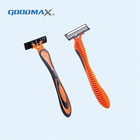 Triple Blades Razor Safety Manufacturers Men Face Cleaning Triple Blade Razor