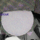 Factory Wholesale Elastic Crystal Trimming Stretch Rhinestone Mesh Fabric For Clothes/shoes/bags