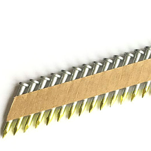 34 Degree Galvanized Paper Tape Collated Joist Hanger framing <strong>Nails</strong>