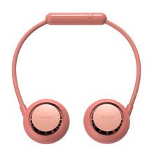 1 комплект Мини Портативный USB Перезаряжаемый шейный платок двойной охлаждающий мини вентилятор ленивый шейный подвесной немой сильный вет...(Китай)