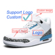 Running Shoes Custom Stylish Look Sneakers Air Cushion jordan 3 Retro Basketball Shoes Special gift for men boyfriend