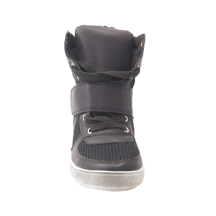 EU TAX FREE New style women high heel sneakers wedge boots comfort shoes