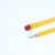 "Factory direct sales 7.5"" OEM yellow body wooden hb #2 pencils with eraser in bulk"