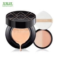 Two-color foundation cream with Air Cushion Skin Waterproof Cushion BB CC cream Cover Blemish Concealer Whitening Moisturizing