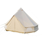 Luxury 3m/4m/5m/6m Cotton Canvas Swag Camping Outdoor Bell Tent For Sale