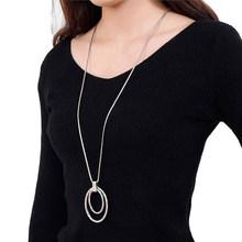 Женское серебряное ожерелье в стиле бохо, 26 видов, длинное металлическое колье-чокер, вечерние аксессуары(Китай)