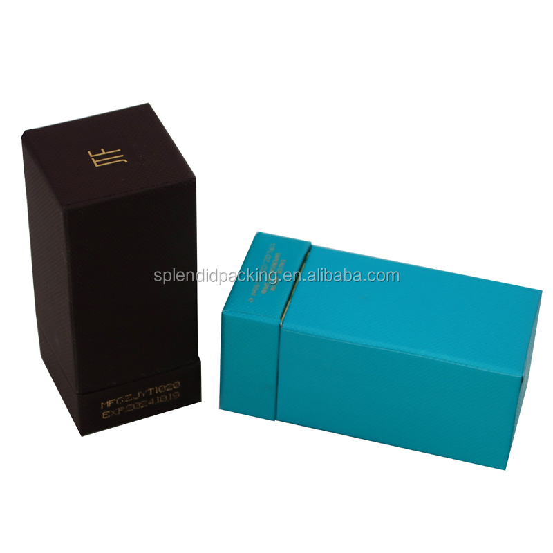 Custom Cosmetic Logo Printed Empty Perfume Box For Perfume Foldable Gift Packaging Bottle Packaging Box