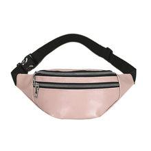 Поясная Сумка Brivilas из искусственной кожи для женщин, водонепроницаемая Мужская поясная сумка, модная спортивная поясная сумка с бананом, мн...(Китай)