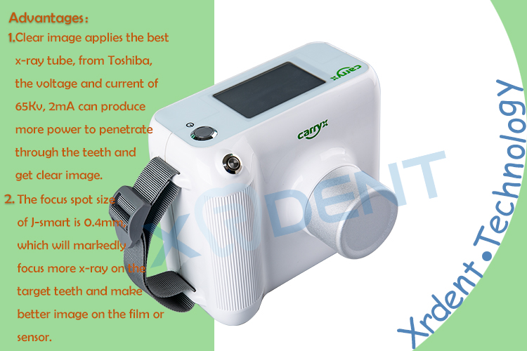 Dental Touch Screen 2MA Portable Dental X Ray Machine