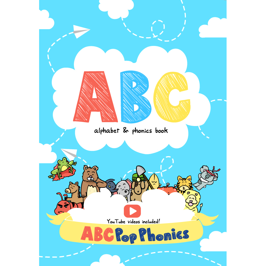 Unforgettable Animal Characters ABC Alphabet Games Phonics Books