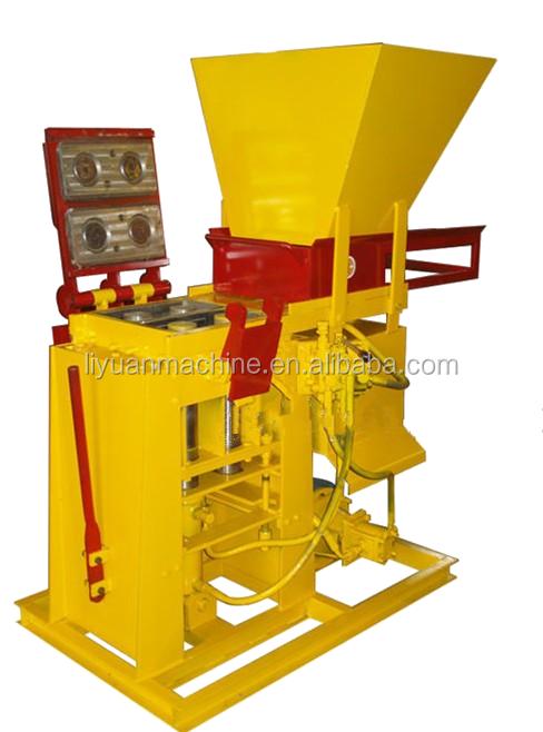 Brb Duurzaam Totaal Automatische Blok Baksteen Machine Apparatuur Hand Druk Grijpende Machines Om Bakstenen Ecologische