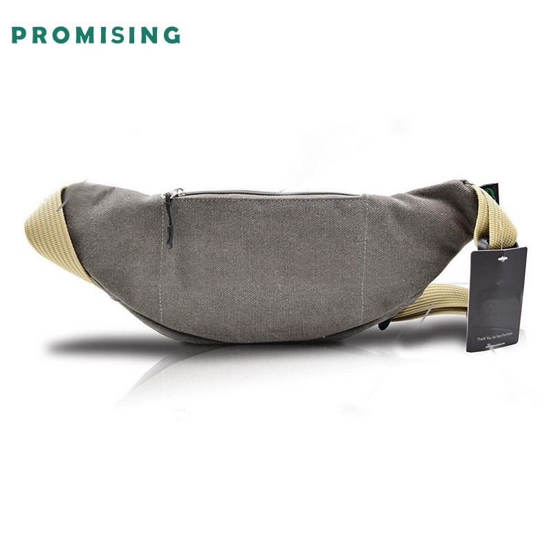 Outdoor Sports Waterproof Dry Belt Canvas Chest Bag crossbody running belt bag for wholesale