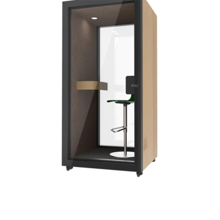 Cabine de telefone interna à prova de som do escritório