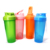 BPA free sport custom logo design protein shaker with mixer ball water bottle