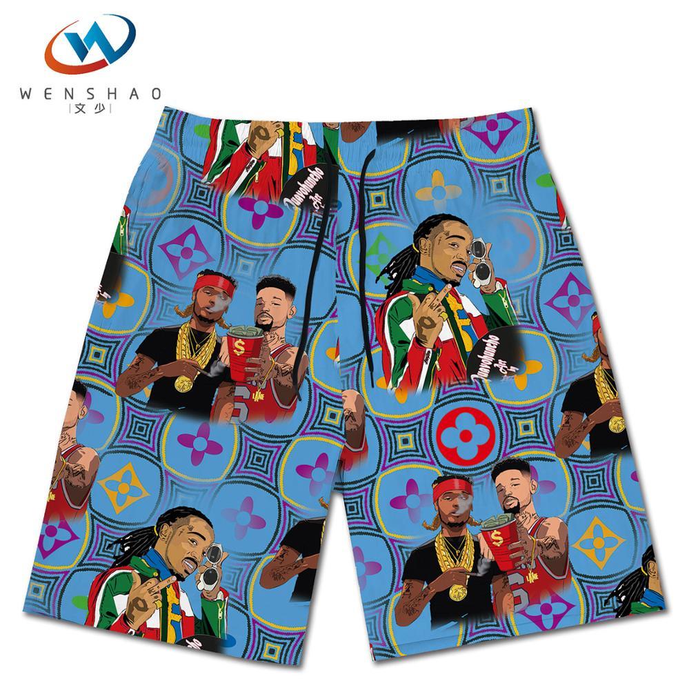 China manufacturer hawaiian style custom casual beach board men's shorts