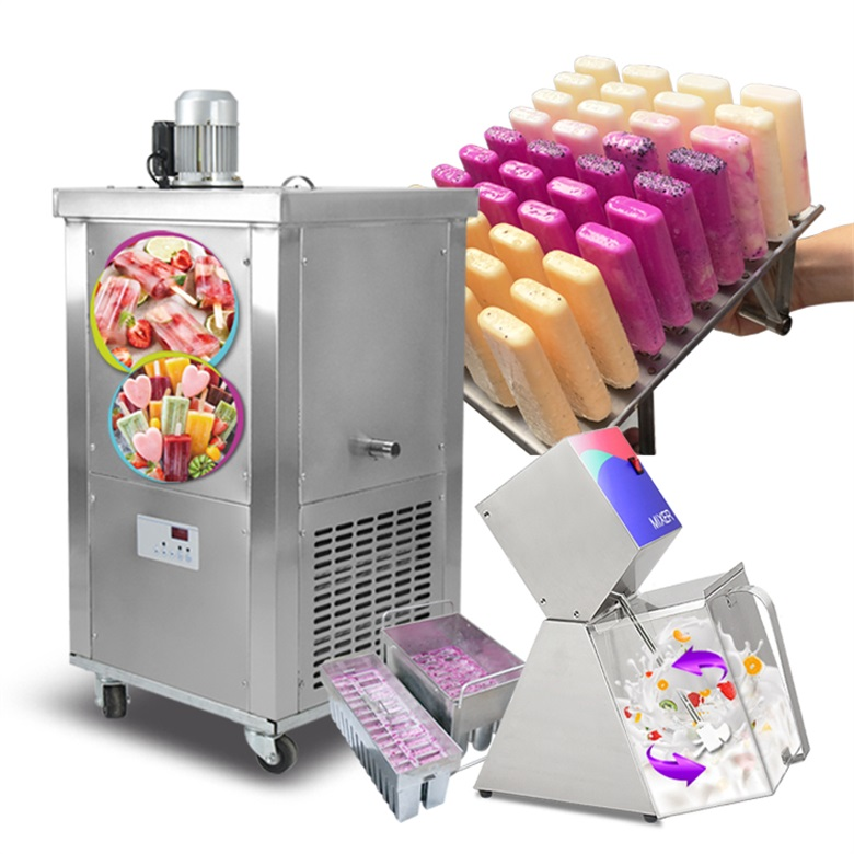 single mold popsicle machine /ice lolly machine /ice lollipop machine with 304 brine tank 008613824555378