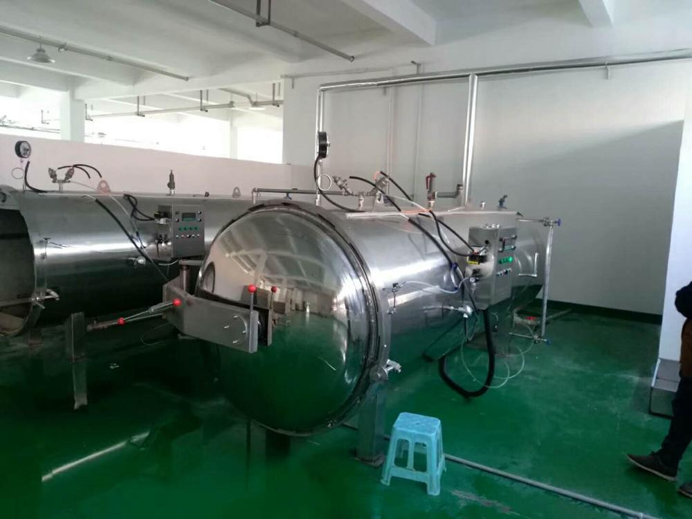automation stainless steel steam canning autoclave for tuna price