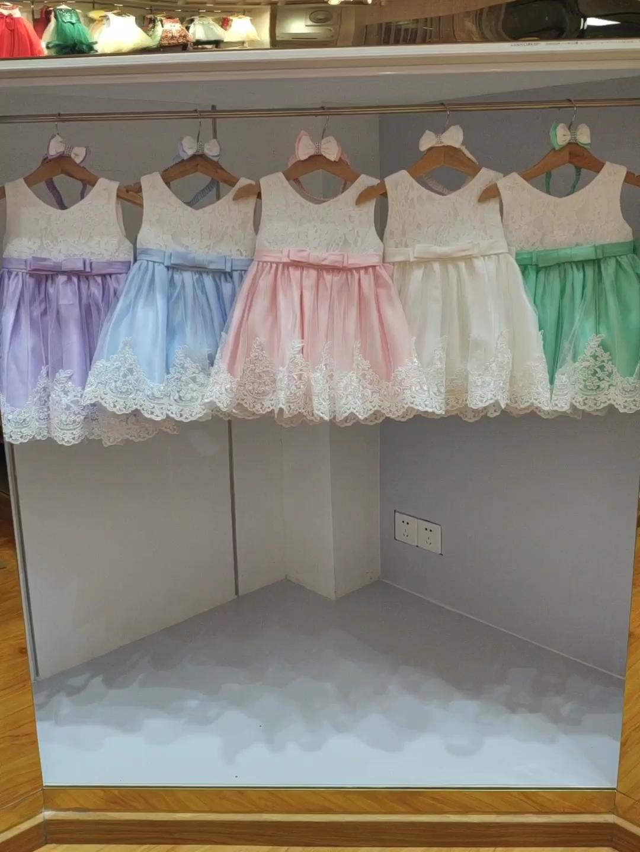 Hotใหม่ผลิตภัณฑ์เสื้อผ้าเด็กวันเกิดดอกไม้เด็กเด็กทารกชุดออกแบบL1911XZ