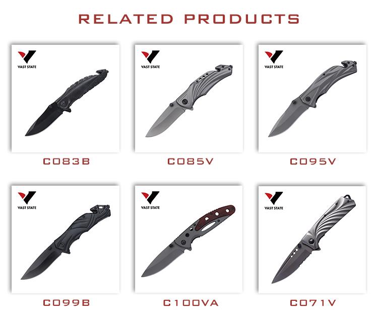 뜨거운 판매 OEM 접는 나이프 3Cr13 블레이드 나무 손잡이 캠핑 포켓 나이프