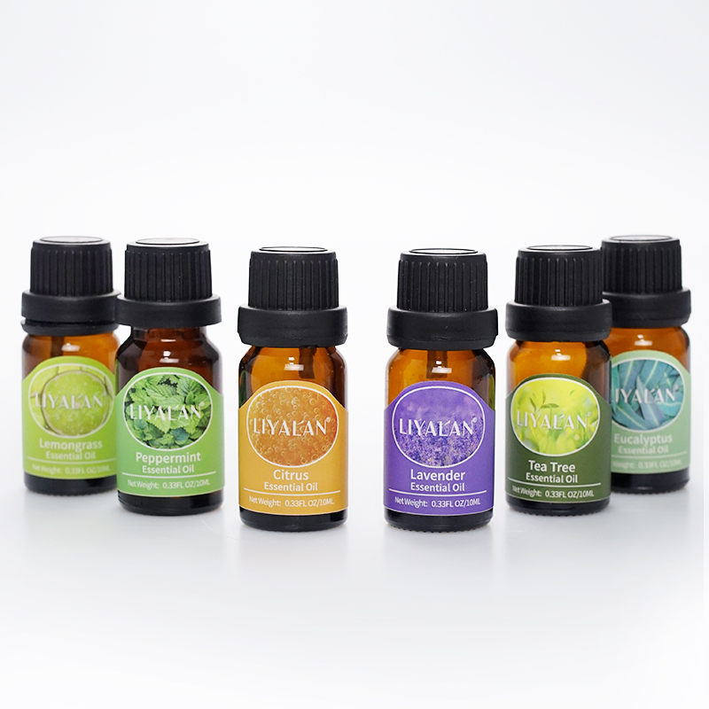 OEM private label organic young living lavender aromatherapy essential oil set