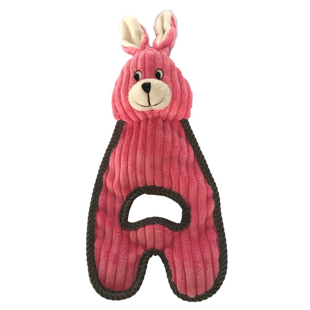 ללעוס צעצוע לחיות מחמד כלב צעצוע Squeakers סיטונאי בפלאש צעצוע כלב