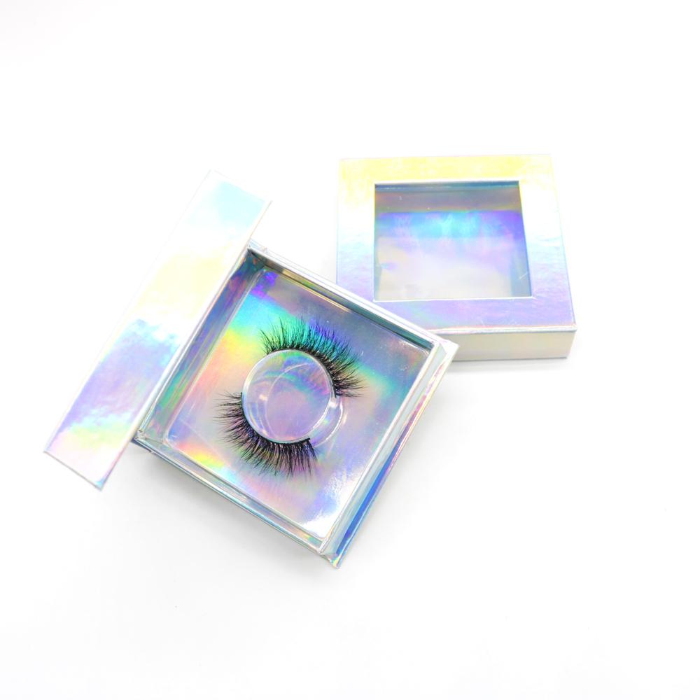 Factory price Free Sample Natural false eyelash 3d silk Eyelashes Custom Eyelash Packaging