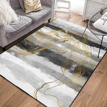 RFWCAK скандинавский ковер для гостиной, нескользящий большой коврик для пола для спальни, модные кухонные коврики с 3D принтом(Китай)