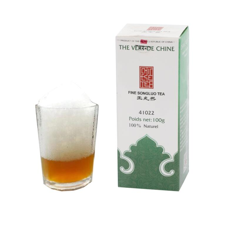 special china green tea 41022 10A with brand fine songluo tea