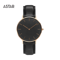 Custom logo low moq small order unisex dw style 316L stainless steel miyota movement minimalist classic watch for sale