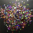 Butterfly Glitter Poly Shape Sequin Variety Holo Colors Butterfly Mix Glitter For Tumbler Decoration