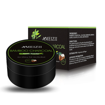 AMEIZII Natural Organic Activated Charcoal Tooth Whitening Bamboo Charcoal Powder Oral Hygiene Products Teeth White Cleansing