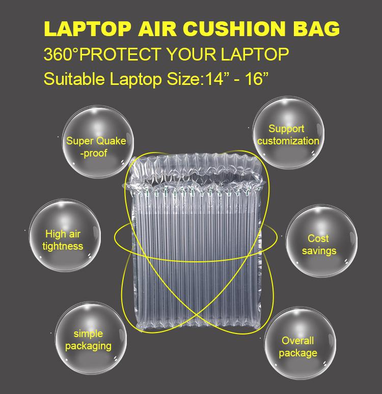 Open Ended Große Laptop Luftblase Tasche Wraps Mit Fabrik Preis