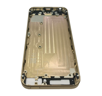 5GS Back Battery Cover Middle Frame Bezel Chassis Batteries Case Rear Cover Shell Back Housing For iPhone 5S 5GS