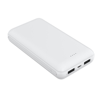 BSCI factory latest Li-polymer power bank fast charging oem power bank 20000mah CE U-Lslim power bank