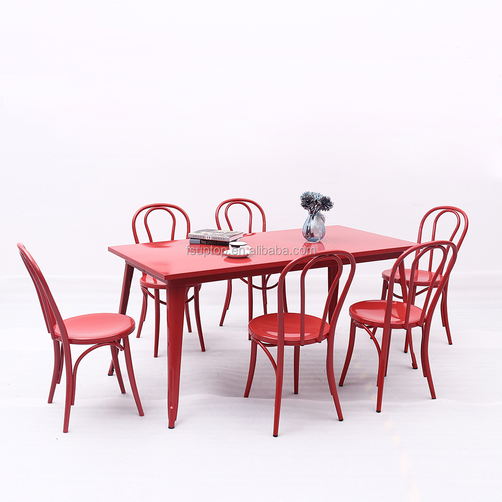 Uptop Furnishings modular cafe table and chairs bulk production for restaurant-2