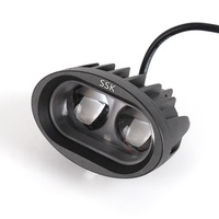HAISSKY Motorcycle LED Light Highlighting Headlights