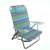 Portable Head Rest Backpack Lightweight Outdoor Aluminum Low Seat Foldable Beach Camping Chair