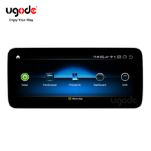 Ugode CLASSE G G63 G65 AMG G500 Qualcomm 4G Android 9 LCD Car Multimedia Player para Benz
