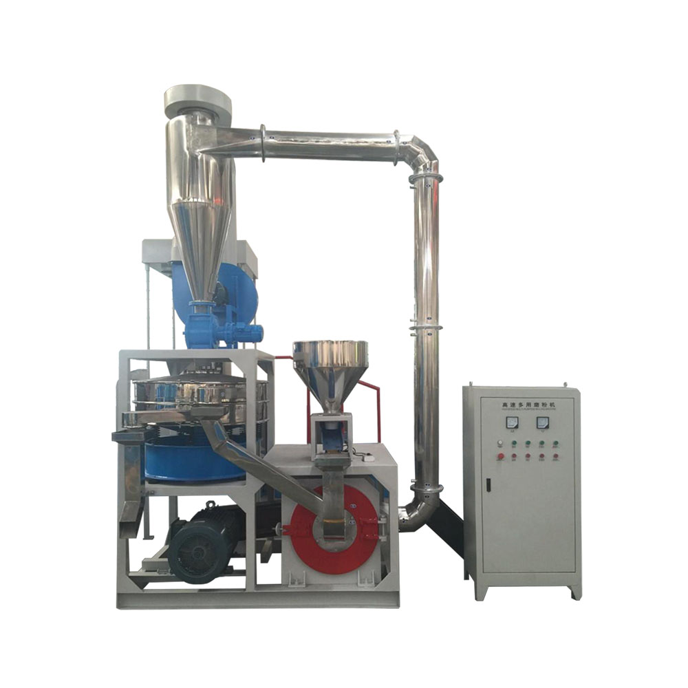 High Capacity SBR Rubber Pulverizer / Miller Machine