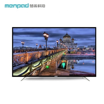 "Network wifi wide screen large 2G+8G 100"" televisions 4K ultra thin tempered glass 100 inch led big size tv D100GUE"