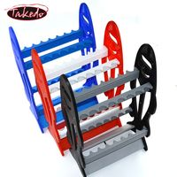 hot 16pcs fish style fishing display rod rack stand