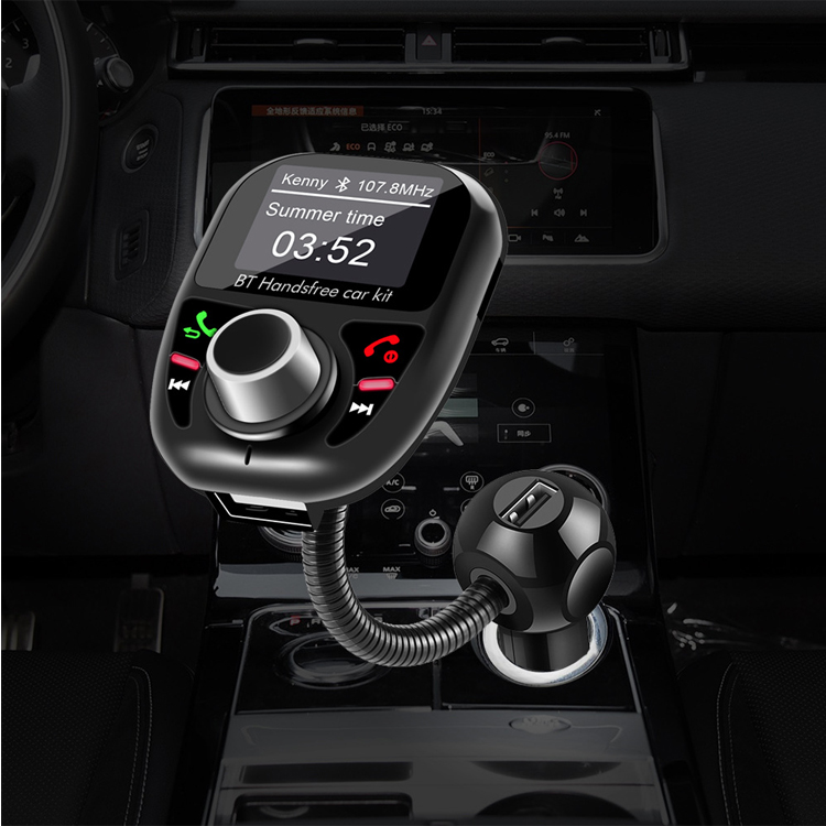 Digital Radio broadcasting Adapter DAB Car Radio with car charger Bluetooth FM transmitter Adapter