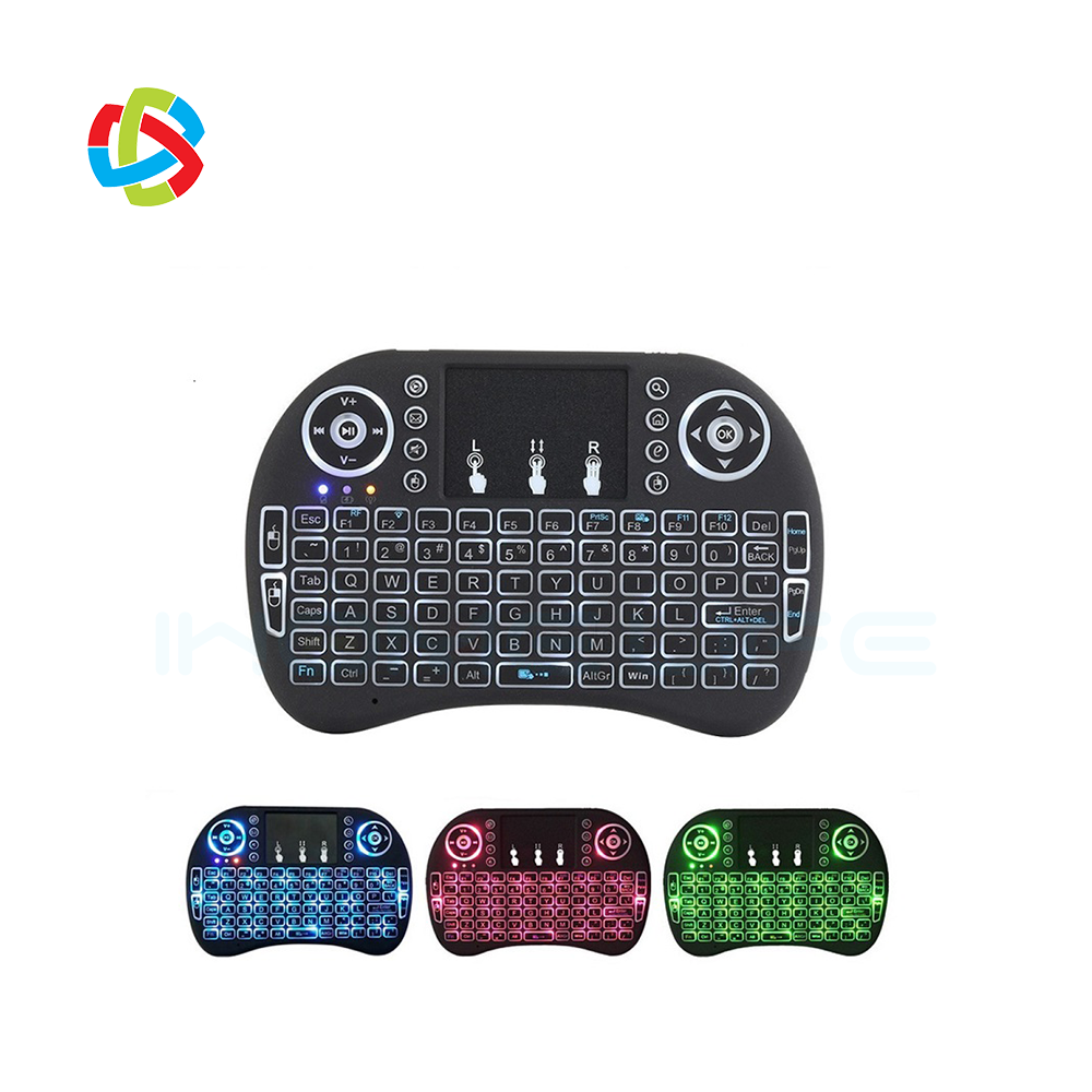 IHOMELIFE REMOTELY CONTROL I8 mouse Usb Programmable Universal Remote Control 2.4g mini fly air gyro mouse wireless keyboard