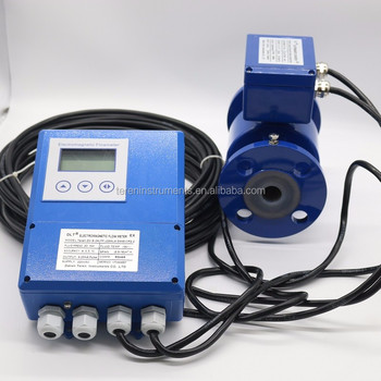 China New Innovative Product DN25/DN50/DN80 Electromagnetic Flow Meter IP68 For Cooling Water