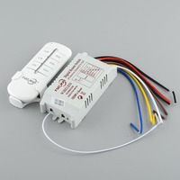 220V 4 Channel light switch Wireless Digital Remote Control Lamp Switch
