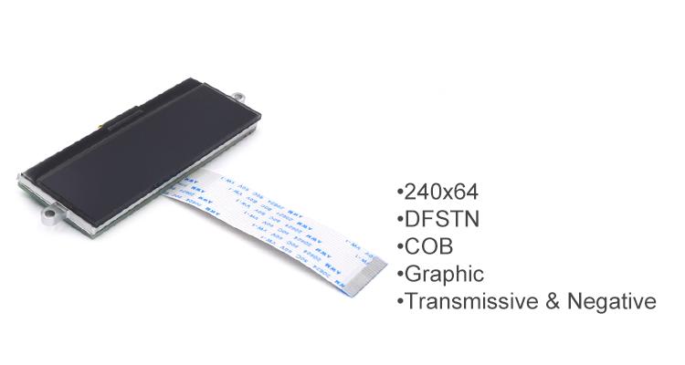 DFSTN Transmissive Negative monochrome screen