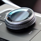 Cars New Design Cars Multimedia Button Crystal Knob Cover For BMW All Series