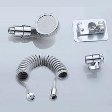 Zhangji короткая ручка спа душевая головка для парикмахерской кран внешний портативный фильтр для воды с функцией экономии воды под высоким да...(Китай)