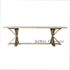 Low price hot sell high quality dining room furniture solid wood dining table