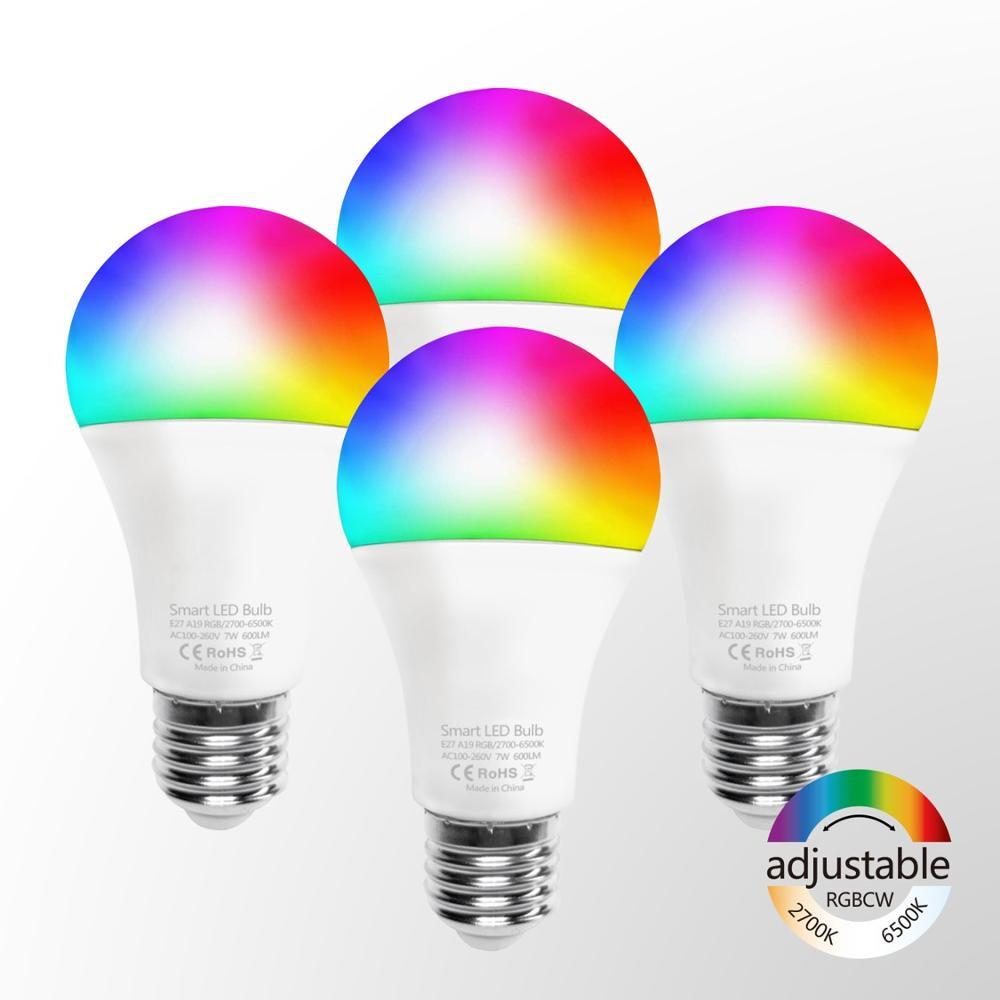 Integratable yerleştirme RGB ampul Led akıllı şarj Wifi akıllı Led ampül